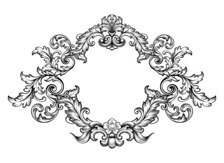 Vintage Baroque Victorian frame