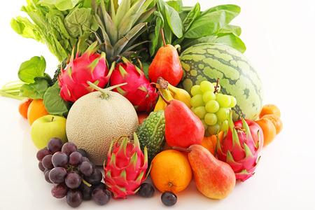 Foto für Fresh fruits and vegetables - Lizenzfreies Bild