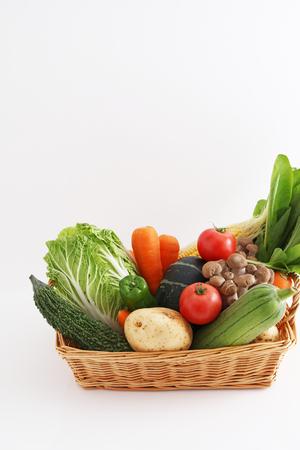 Foto für Fresh vegetables in basket - Lizenzfreies Bild