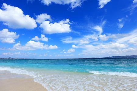 Photo for Beautiful beach in Okinawa - Royalty Free Image