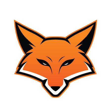 Illustration for Fox head mascot - Royalty Free Image