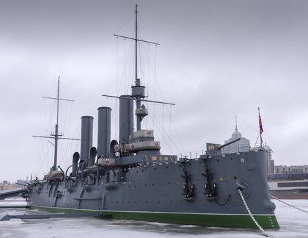 Battleship Cruiser Aurora, St Petersburg, Russia