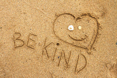 Photo for Message Be Kind! - Royalty Free Image