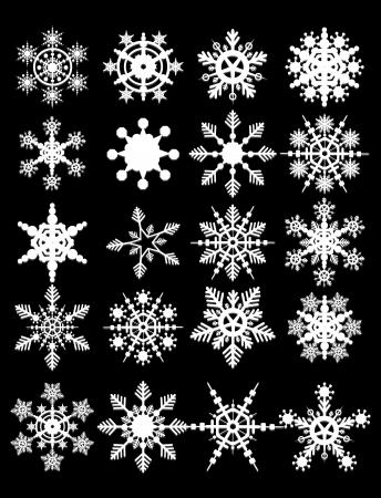 Snowflake Vectors collection
