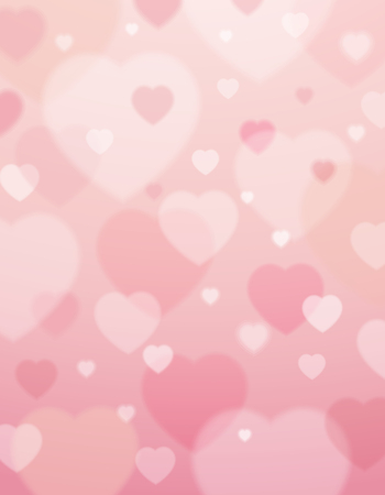 Illustration pour pink background with  valentine hearts ,  vector illustration - image libre de droit