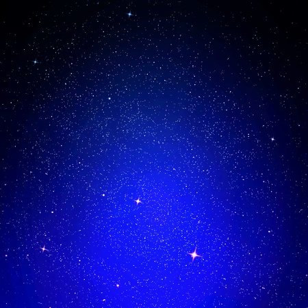 Stars and night sky as backg