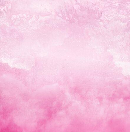 Foto de Color romantic sky as background. Watercolor - Imagen libre de derechos
