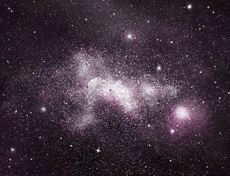 Photo for Night sky with stars as background - Royalty Free Image