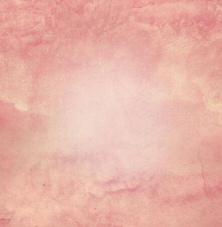 Photo pour Color romantic sky as background. Watercolor - image libre de droit