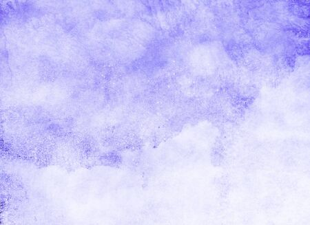 Foto de Color sky with clouds as background. Watercolor - Imagen libre de derechos