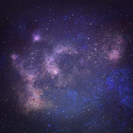Photo pour Night sky with stars as background. Universe - image libre de droit