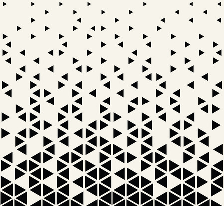 Ilustración de abstract seamless geometric triangle vector pattern - Imagen libre de derechos