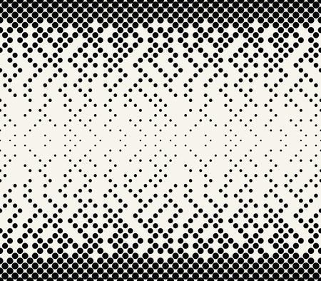 Illustration pour abstract halftone geometric vector patter - image libre de droit