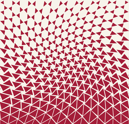 Illustration pour geometric gradient triangle pattern background - image libre de droit