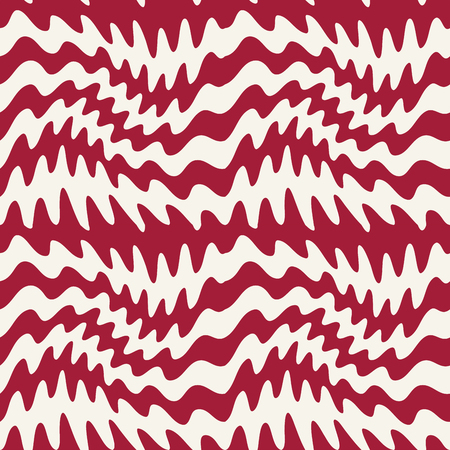 Illustration pour abstract wavy stripes seamless pattern - image libre de droit