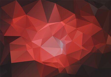 Illustration for Low poly contemporary triangle elements geometric background. Triangular polygons mosaic structure. Gradient texture low poly triangles presentation background pattern. - Royalty Free Image