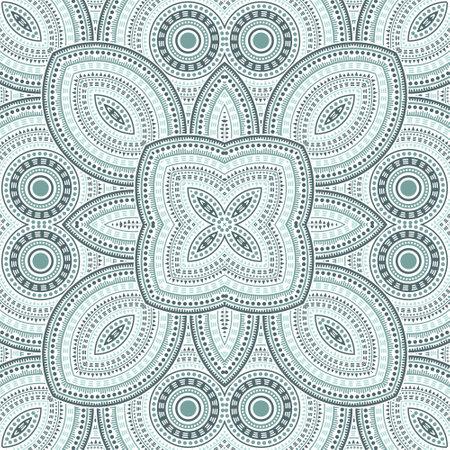 Illustration pour Linear moroccan zellige tile seamless ornament. Ethnic geometric vector elements. Bedcover print design. Stylish moroccan zellige tilework perpetual pattern. Interior decoration print. - image libre de droit