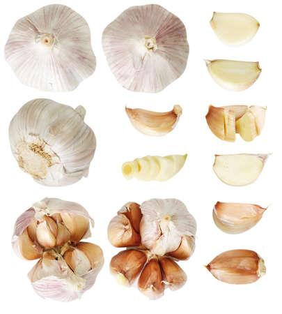 Foto für Set of garlic. - Lizenzfreies Bild