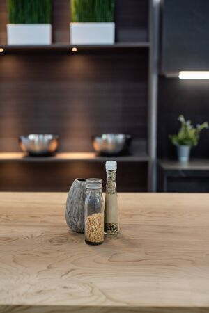 Photo pour bar and kitchen interior design - image libre de droit