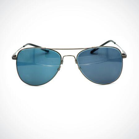 Photo for Glasses,Image of modern,fashionable,Sunblock on white background. - Royalty Free Image