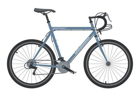 Illustration pour Bicycle element. Bicycle poster. Realistic picture. Vector illustration image. - image libre de droit