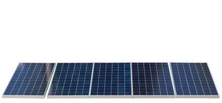 Photo for solar panel renewable energy - Royalty Free Image