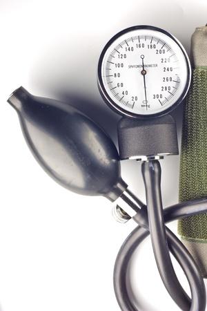 sphygomanometer isolated on white background