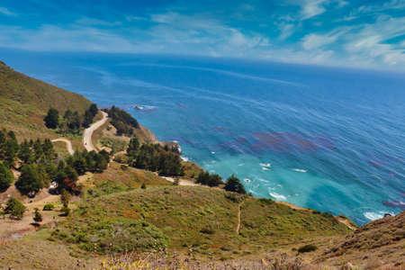 Photo pour Big Sur California landscape. - image libre de droit