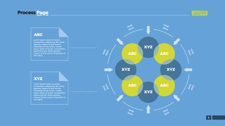 flow chart slide template business data graph diagram design