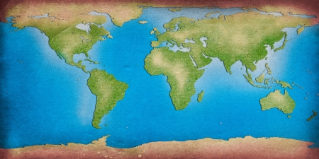 recycle world map for your background