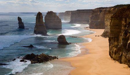 Twelve apostles./ Australia. Great ocean Road.