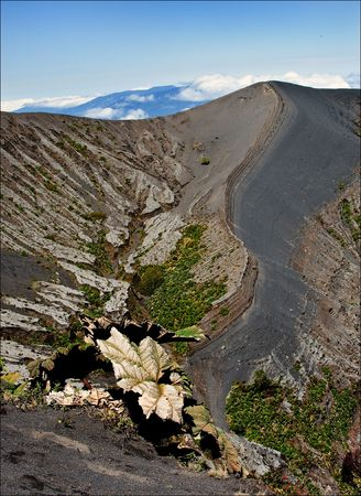 The Irazu Volcano is an active volcano in Costa Rica, situated in the Cordillera Central close to the city of Cartago.