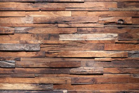 Photo pour timber wood wall texture background - image libre de droit