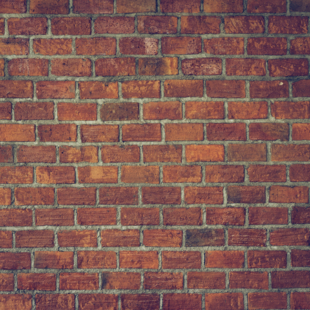 cement and brick wall texture background, image used retro vintage tone filter