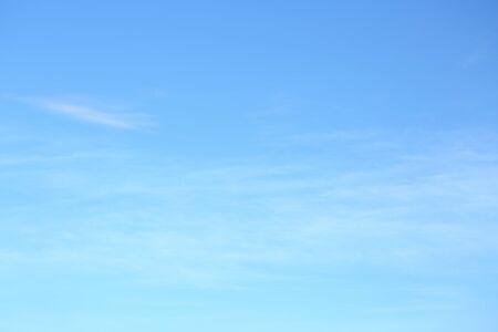 Photo pour air on blue sky, clear weather day background - image libre de droit
