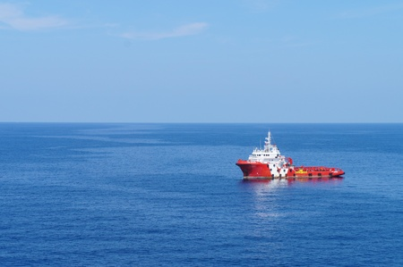 Offshore Supply Boat for Oil Rig