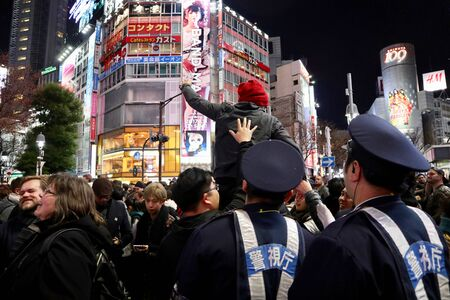 New Year in Shibuya