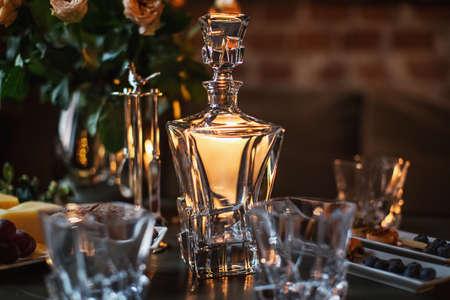 Photo pour elegant table decoration for event or celebration - image libre de droit