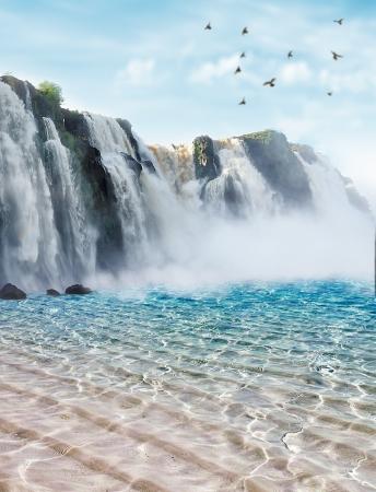 Iguazu falls in Misiones pro