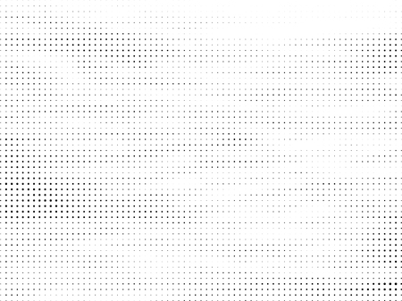 Illustration pour Abstract Halftone gradient dots background. Black white grunge texture. Pop Art circle comic pattern. Polka dots ornament vector pattern. Template for presentation flyer, business cards, stickers - image libre de droit