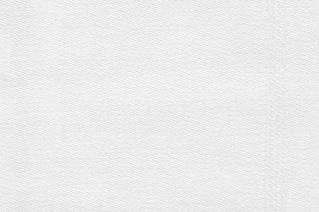 Photo pour White linen fabric texture close-up as background. - image libre de droit
