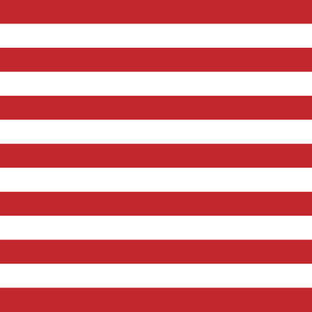 Illustration for Vector seamless pattern of USA American stripes isolated on white background - Royalty Free Image