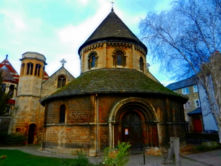 Round Church in Cambridge England