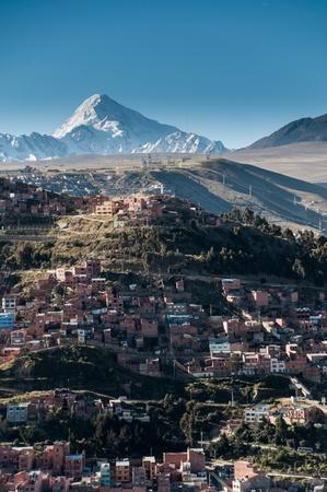 Panoramic View of La Paz, Bolivian