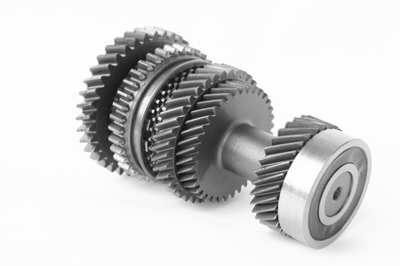 car control gear in isolated