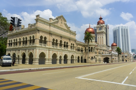 sultan abdul samad building is historical building in malaysia