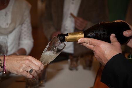 Photo pour glass for wine - image libre de droit
