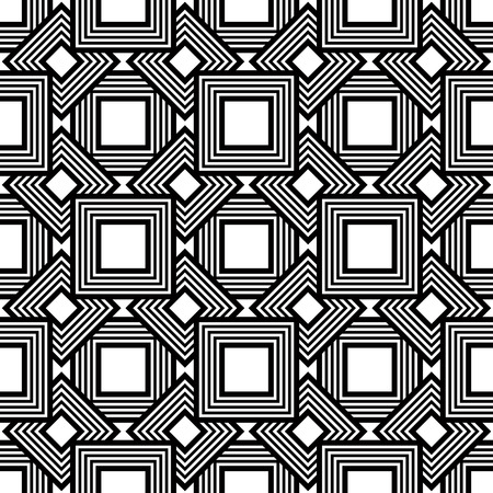 Geometric Diamond Pattern