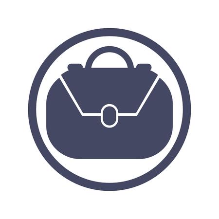 Bag vector icon.