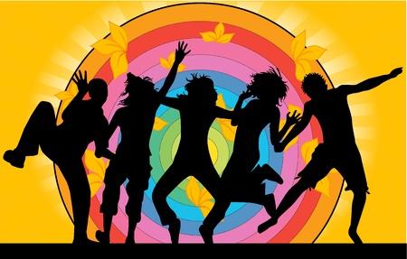 Illustration for Party - grunge background  - Royalty Free Image